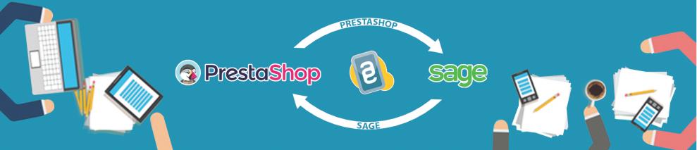 PrestaConnect synchronise SAGE et PRESTASHOP
